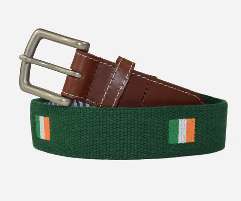 Irish Flag Belt (erin green)