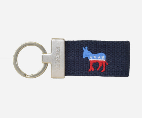 Democrat Key fob (patriot navy)