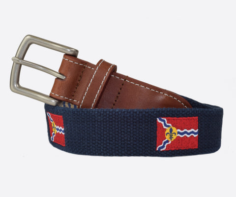 St. Louis Flag Belt (Patriot navy)