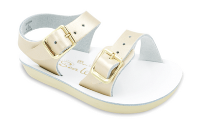 Sea Wee Sandals in Gold
