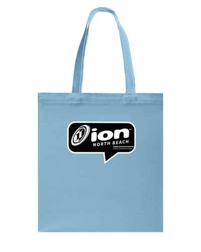 ION North Beach Conversation Canvas Shopping Tote