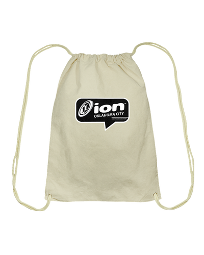 ION Oklahoma City Conversation Cotton Drawstring Backpack