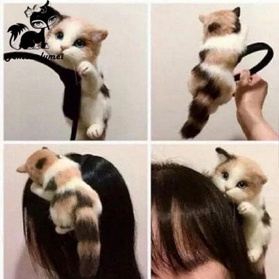 Cat Head Hairband
