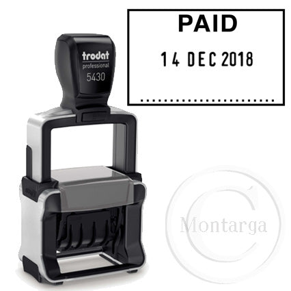 Dater 5430 PAID Trodat Self Inking Stamp