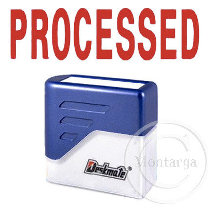 Processed Deskmate Stamp