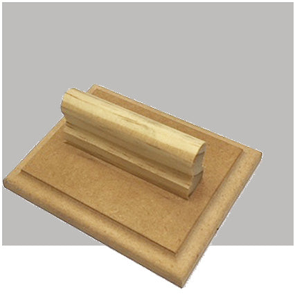 W8- 100 x 120mm - Wooden Base