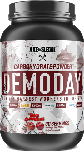 Axe & Sledge Demo Day Carbohydrate Powder