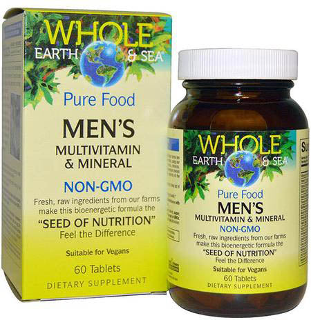 Natural Factors Whole Earth & Sea Men's Multivitamin & Mineral