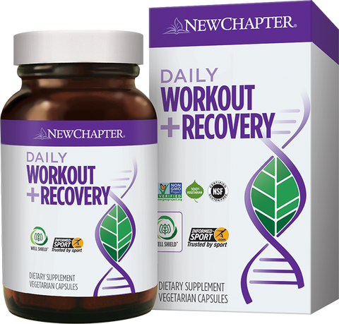 New Chapter Daily Workout + Recovery