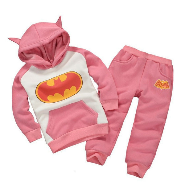 New Year Toddler Batman Sports Suits