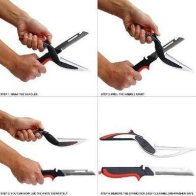 Multipurpose Stainless Steel Kitchen Cutter Scissors