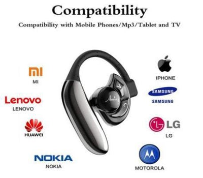 Single Headset Wireless Phone Bluetooth Compatibility