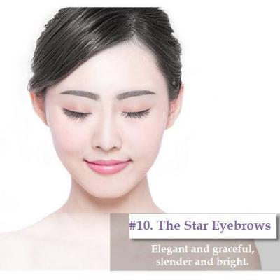 Women's Handmade Human Hair Natural False Eyebrow Wig
