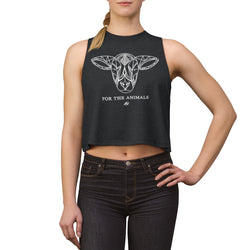 For The Animals - Lamb - Women's Crop top