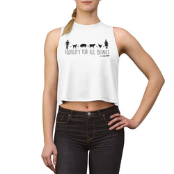 Equality For All Beings - Women's Crop top