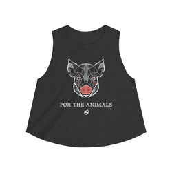 For The Animals - Pig - Women's Crop top