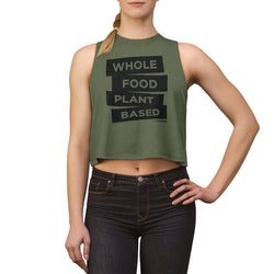 Whole Food Plant Based - Women's Crop top