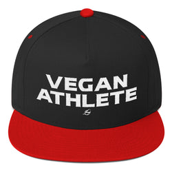 Vegan Athlete - Flat Bill Cap