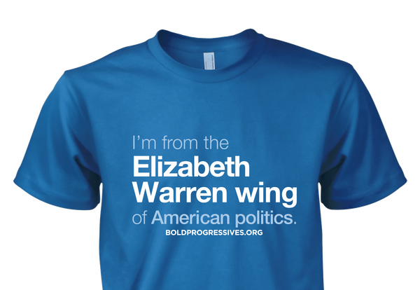 """I'm from the Elizabeth Warren wing of American Politics."" shirt"