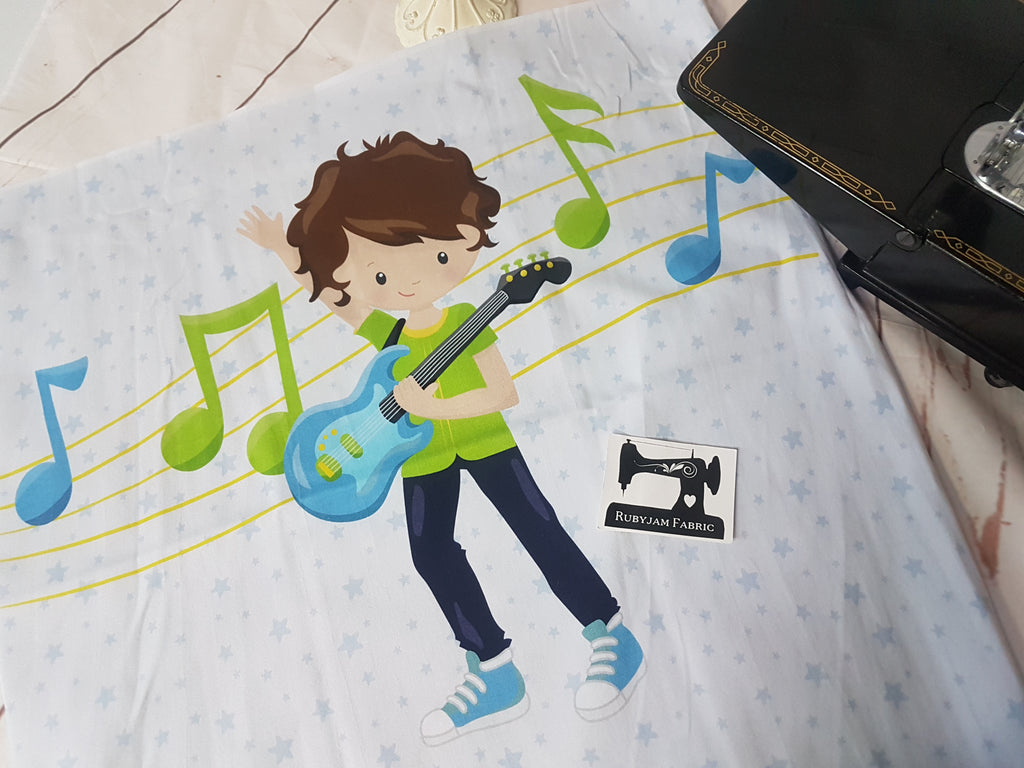 Boy Band Guitar Panel. Sold per panel.
