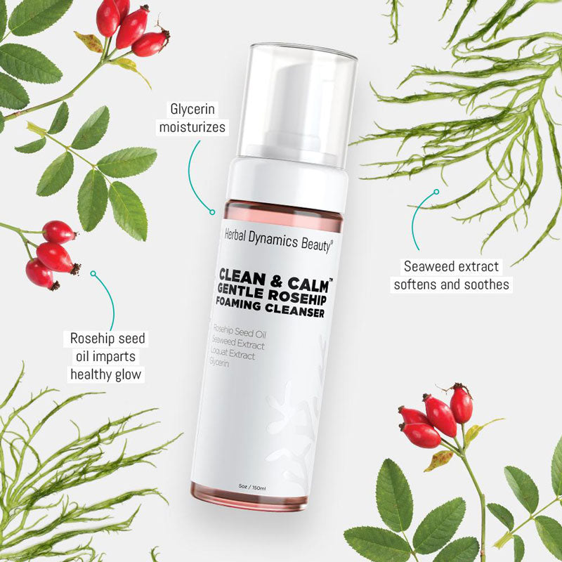 Clean & Calm™ Gentle Rosehip Foaming Cleanser