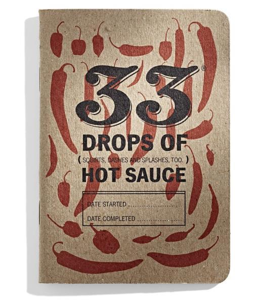 33 Drops of Hot Sauce Tasting Journal - House of Scoville
