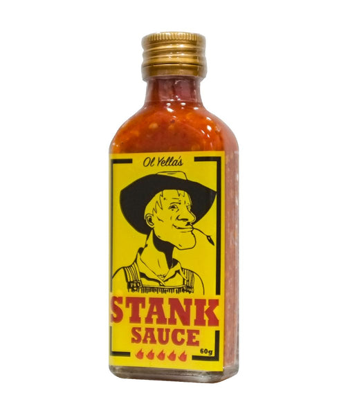 Extra Hot Stank Sauce by Ol Yella's