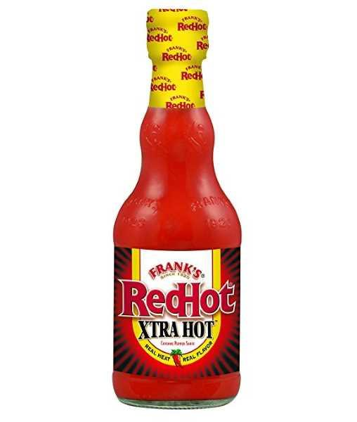 RedHot XTRA Hot Cayenne Pepper Sauce by Frank's - House of Scoville