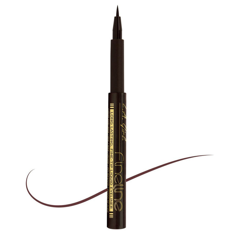 LA Girl Nigeria Eyeliner Dark Brown Fineline Eyeliner