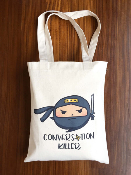 Conversation Killer Tote Bag - A Wild Exploration