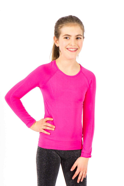 Active Long Sleeve 2 Pack - Fuchsia and Black