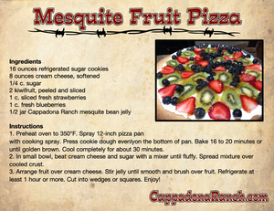 Mesquite Fruit Pizza