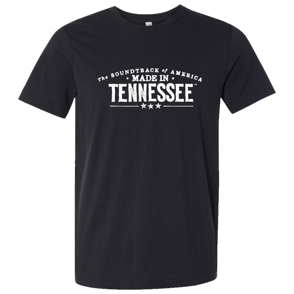 The Soundtrack of America Made in Tennessee T-Shirt - Vintage Black