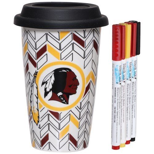 Washington Redskins Just Add Color Travel Cup - AtlanticCoastSports