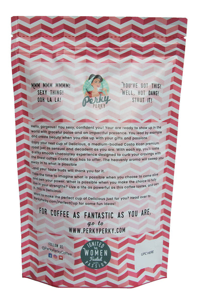 Delicious - Costa Rican Tarrazu Medium Roast Coffee - 12 oz.