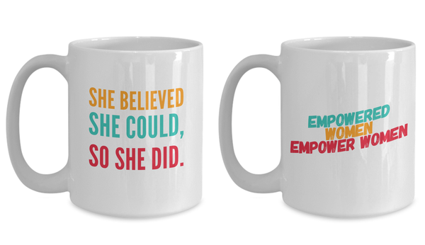 Empowered Women 15 oz. Coffee Mug Bundle