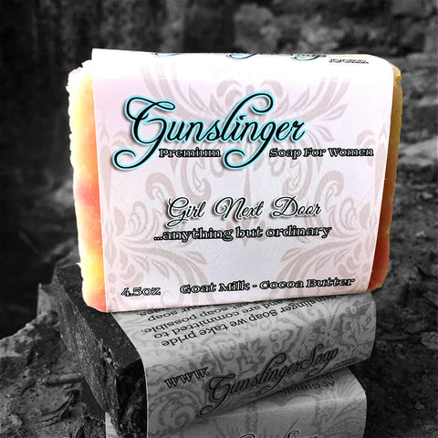 Girl Next Door - Goat's Milk and Cocoa Butter Soap For Women