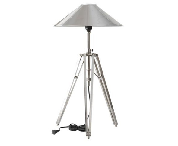 726001 Tripod Desk Lamp w/ metal shade (726001-shade)