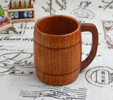 Wood Barrel Mug