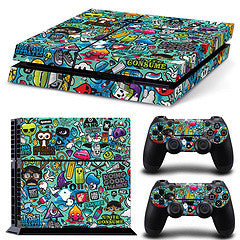 SummerBomz Skin - PS4 Protector