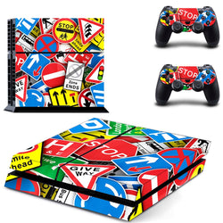 Stahhpp Skin - PS4 Protector