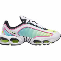 Nike: Tailwind IV (White/Black/China Rose/Aurora Green)