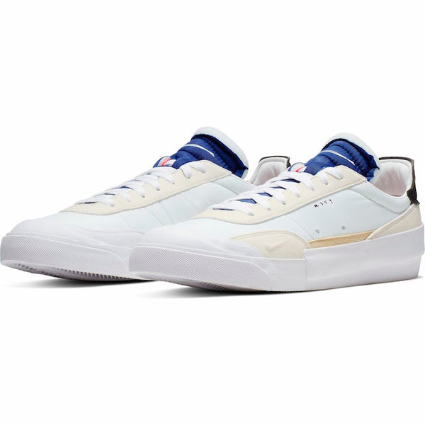 Nike: Drop Type (Summit White/Black/White/Deep Royal Blue)