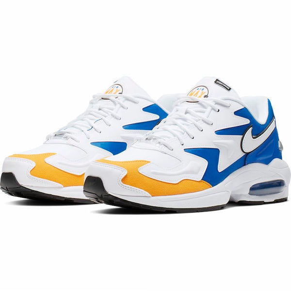 Nike: Air Max2 Light Premium (White/University Gold/Game Royal)
