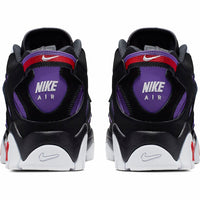 Nike: Air Barrage Mid (Black/White/Hyper Grape/University Red)