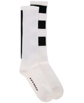 Rick Owens DRKSHDW: Socks (Milk/Black)