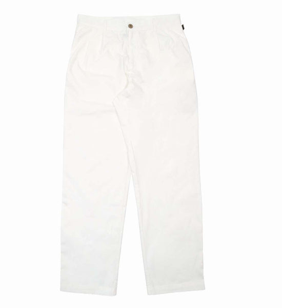 Stan Ray: Wide Leg Pleated (Left White)