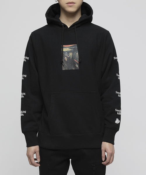FR2: Smoke Ring Hoodie (Black) FR2 - Nowhere