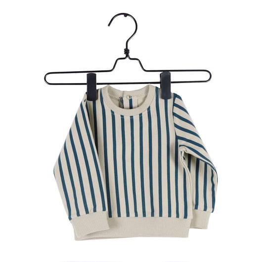 PIUPIA - Green stripes sweatshirt PIUPIA - Green stripes sweatshirt, apparel, Piupia, littlebelleandbeau- littlebelleandbeau