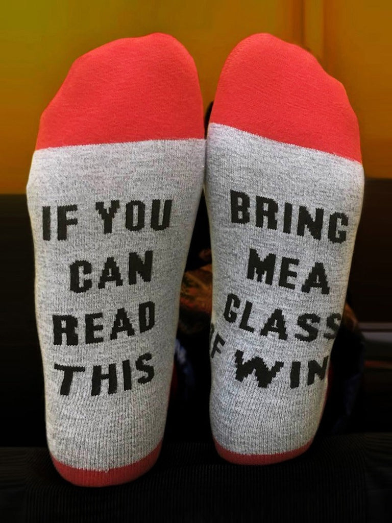 If You Can Read This Socks